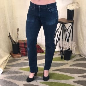 7 For all mankind Slimmy ankle jean